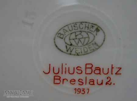 Talerzyk restauracja Winzergarten Breslau