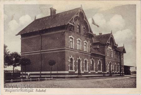 Dworzec kolejowy w Wągrowcu