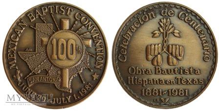 100-lecie Latynoskiej Konwencji Baptystycznej 1981