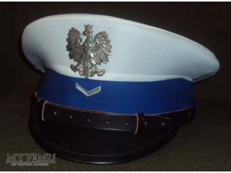 Czapka sierżanta RD Policji