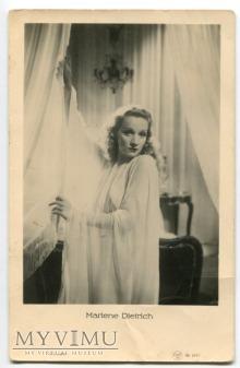 Marlene Dietrich Łotwa Pocztówka EMBR 2043