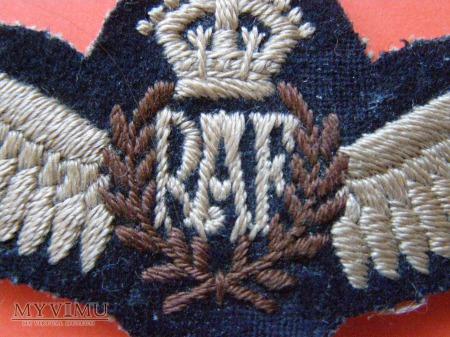 3. Plakietka RAF
