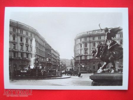 Neapol - Piazza della Borsa
