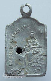 Medalik szkaplerzny wzór 2