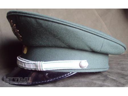 Czapka oficera młodszego Polizei Sachsen