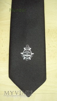 Krawat pamiątkowy 30lat 9 Flotylli Obrony Wybrzeża