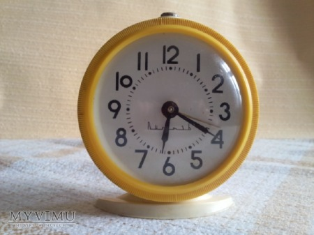 Żółty budzik Vityaz