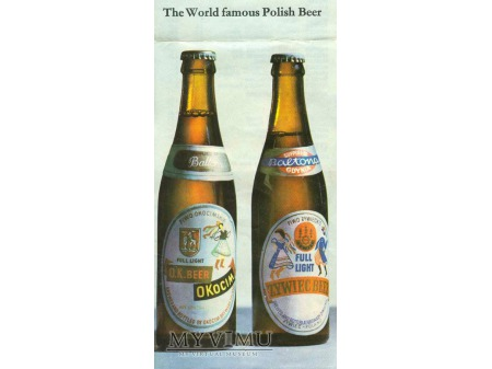 The World famous Polish Beer