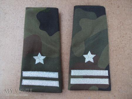 Pochewki z oznakami stopnia - major BOR
