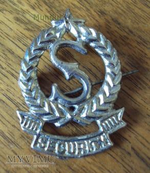 Indyjska odznaka SECURITY