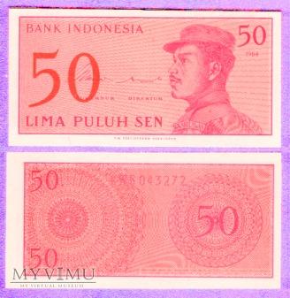 Indonezja, 50 SEN 1964r