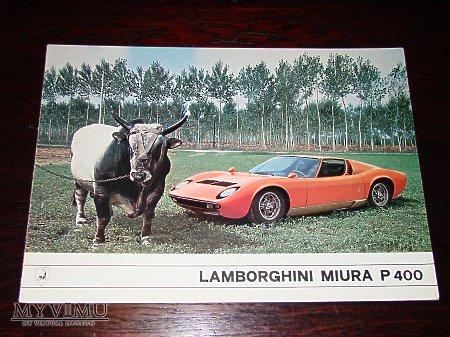Prospekt LAMBORGHINI MIURA P400