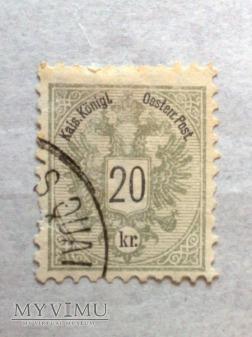 Austria 20 Krajcar austro-węgierski