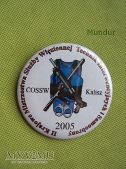 Znaczek z mistrzostw SW technik interwencyjnych
