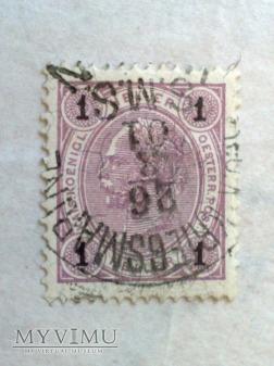 Franz Joseph 1899 1 Halerz austro-węgierski