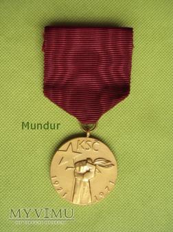 Medaile k padesátému výročí Komunistické strany ČS