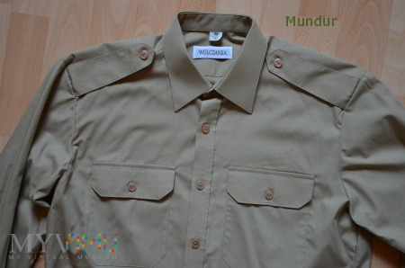 Koszulobluza khaki SG z długimi rękawami