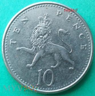 10 pence United Kingdom 1992