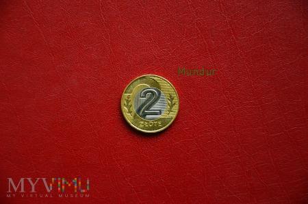 Moneta: 2 złote od 1995r.