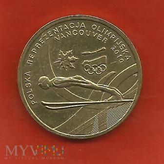 Polska 2 złote, 2010 Olympic Vancouver