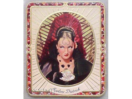 Duże zdjęcie Marlene Dietrich GARBATY Papierosy KurMark 1934