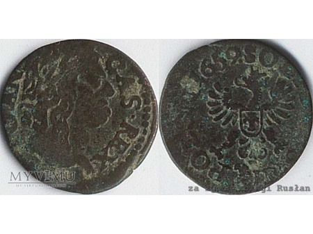 szeląg koronny 1659 3