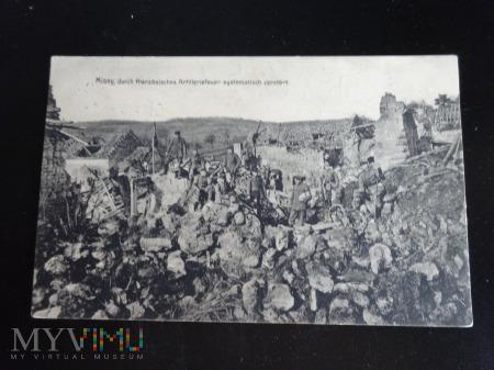 Duże zdjęcie Ostrzał artyleryjski