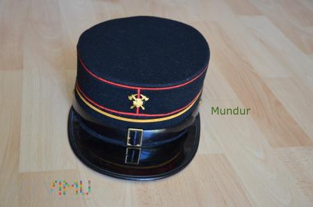 Szwajcarskie kepi strażackie