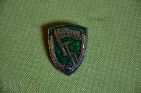 NVA: odznaka BESTER 4 Grenztruppen der DDR