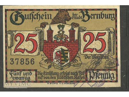 Gutschein der Stadt Bernburg