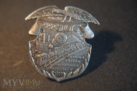 Odznaka Pociąg Pancerny - Smok ; Kopia