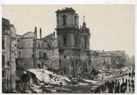 W-wa - Kościół Świętego Krzyża - 1945