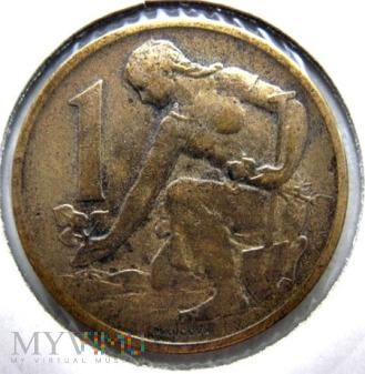 1 korona 1967 r. Czechosłowacja