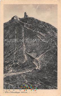 Karkonosze Śnieżka Schneekoppe - lata 20-te