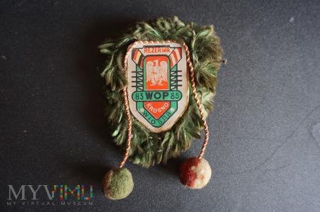 Odznaka Rezerwy WOP - Wiosna 83 - 85 Krosno
