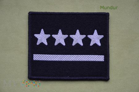 Oznaka stopnia do ubioru specjalnego - kapitan
