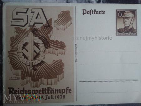 Reichswettkämpfe der SA, Berlin, 15.-17. Juli 1938