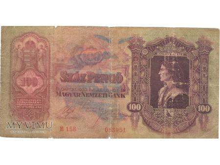 100 PENGO 1930