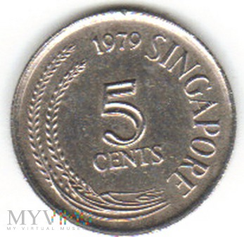 5 CENTS 1979