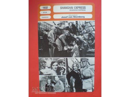 Duże zdjęcie Marlene Dietrich film Shanghai Express 1932