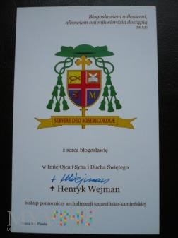 Biskup Henryk Wejman