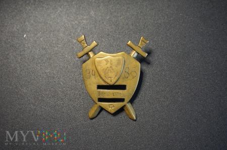 Odznaka Rezerwy Jesień 84/86