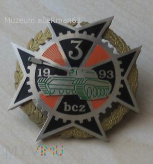 Odznaka 3 Batalionu Czołgów. Żurawica.