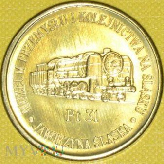 Medal pamiątkowy Muzeum Przemysłu i Kolejnictwa