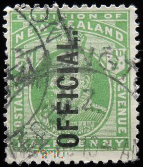 Nowa Zelandia 1/2D Edward VII