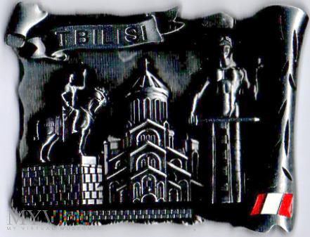 Duże zdjęcie 3 magnesy z pomnikiem Wachtanga I Gorgasali