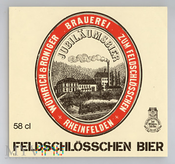 Feldschlosschen Bier