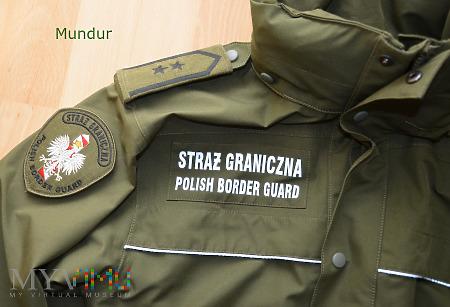 Kurtka służbowa Straży Granicznej 2014