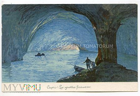 Capri - Lazurowa Grota - początek XX w.