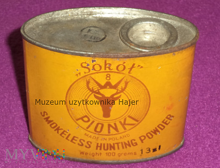 Sokół Pionki Smokeless Hunting Powder - puszka